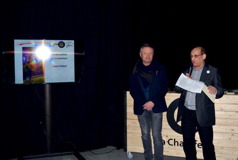 Février: Remise du prix du concours de la couverture de l'annuaire 2018 du club de la presse des Hauts de France.